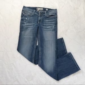 BKE Denim Payton Distressed Bootcut Jeans 29R